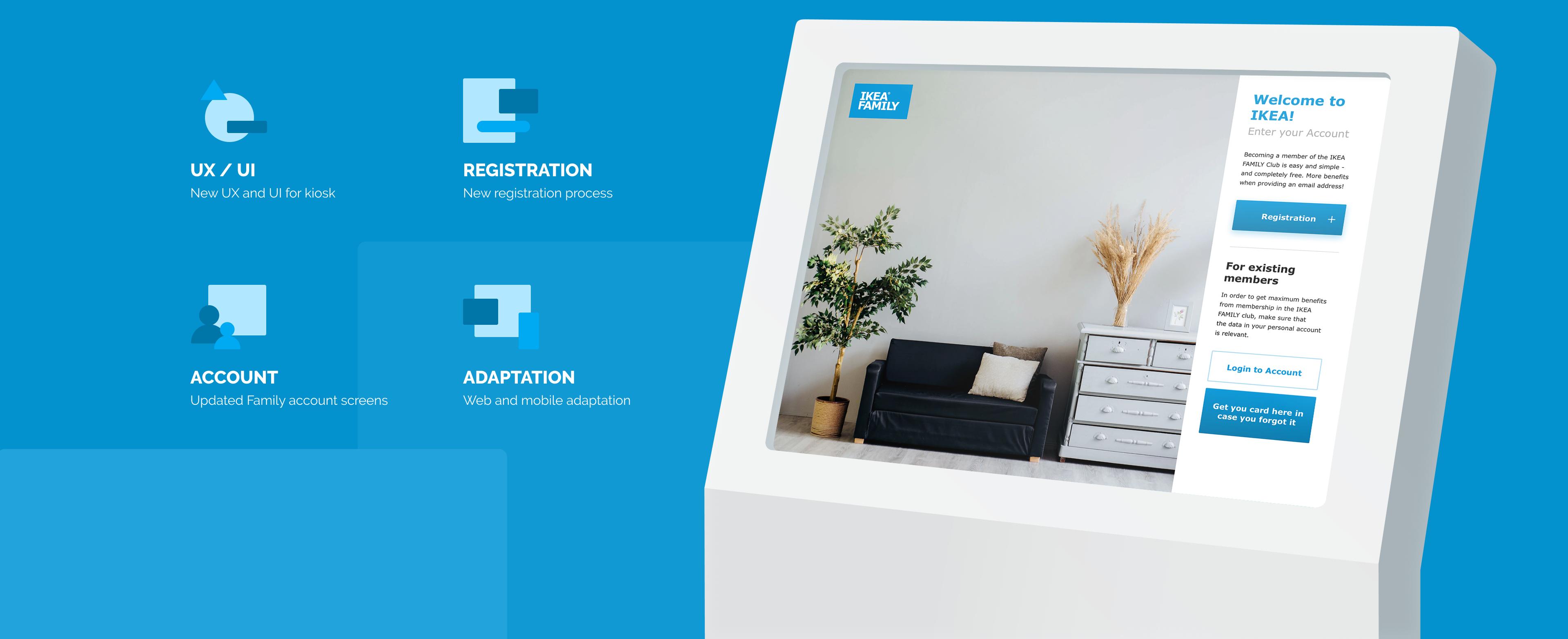 Ikea Family Kiosk Web And Mobile App
